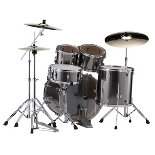 Pearl Export EXX 22'' Fusion Drum Kit, Smokey Chrome