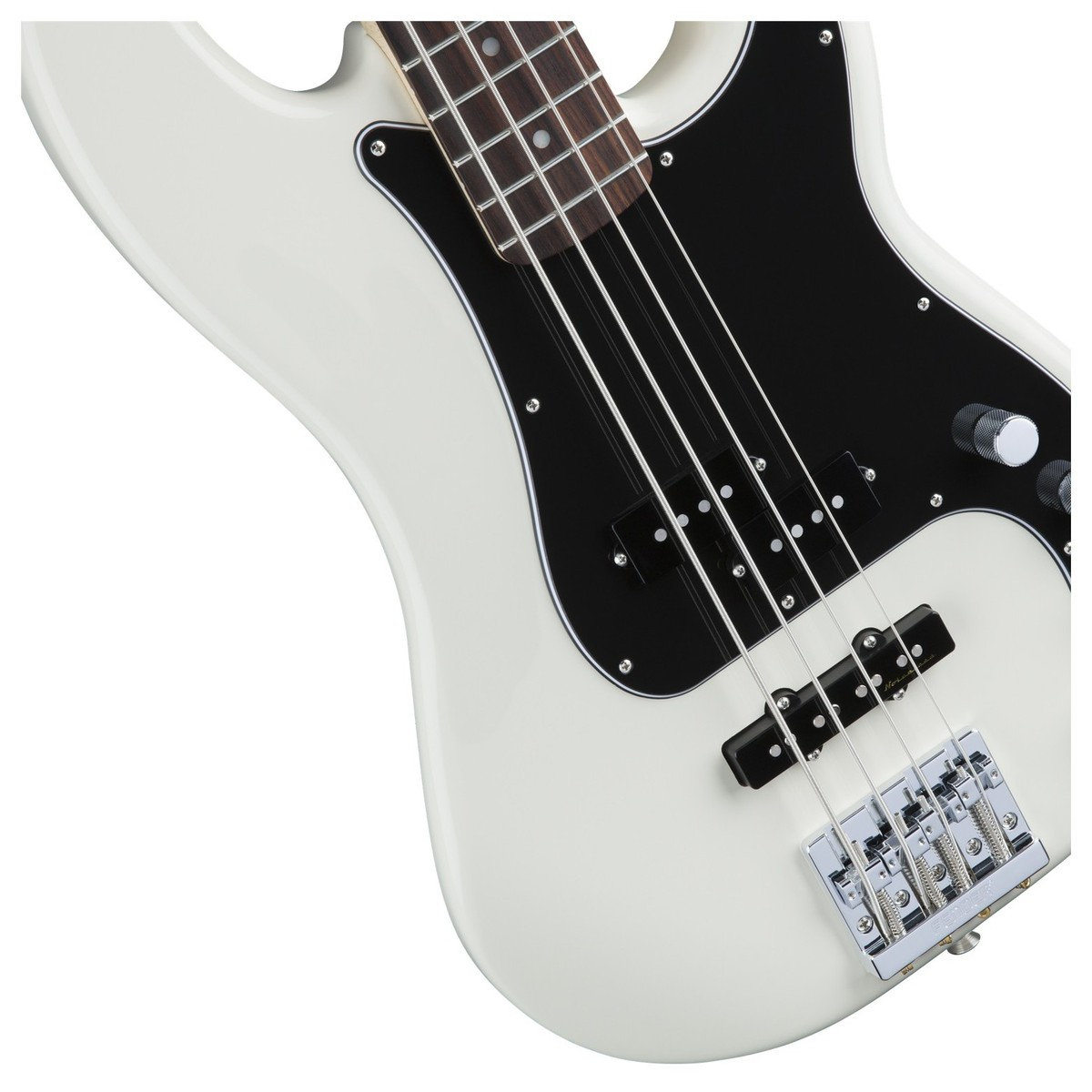 Fender Deluxe Active P Bass Special  Rw  Olympic White At Gear4music Com
