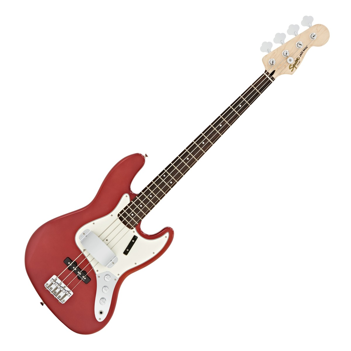 squier by fender vintage modified jazz bass candy apple red fsr at. Black Bedroom Furniture Sets. Home Design Ideas