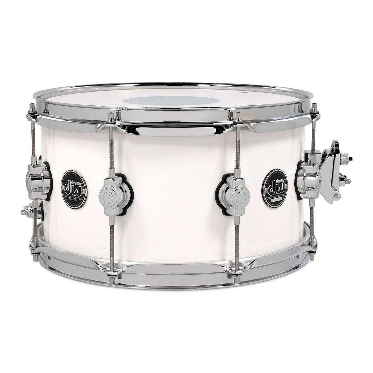 dw drums performance series 13 x 7 snare drum white ice at. Black Bedroom Furniture Sets. Home Design Ideas