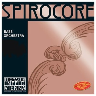 Thomastik Spirocore 1/4 Double Bass D String, Chrome Wound
