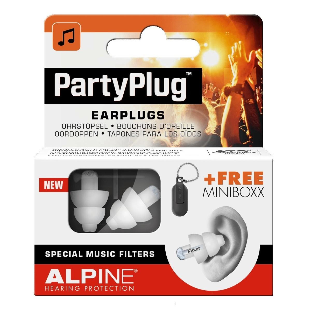 Image of Alpine PartyPlug Earplugs White
