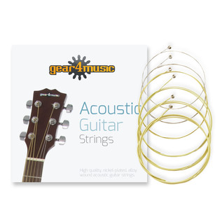 Deluxe Dreadnought Acoustic Guitar Pack by Gear4music, Mahogany