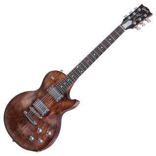 Gibson Les Paul Faded HP Electric Guitar, Worn Brown (2017)