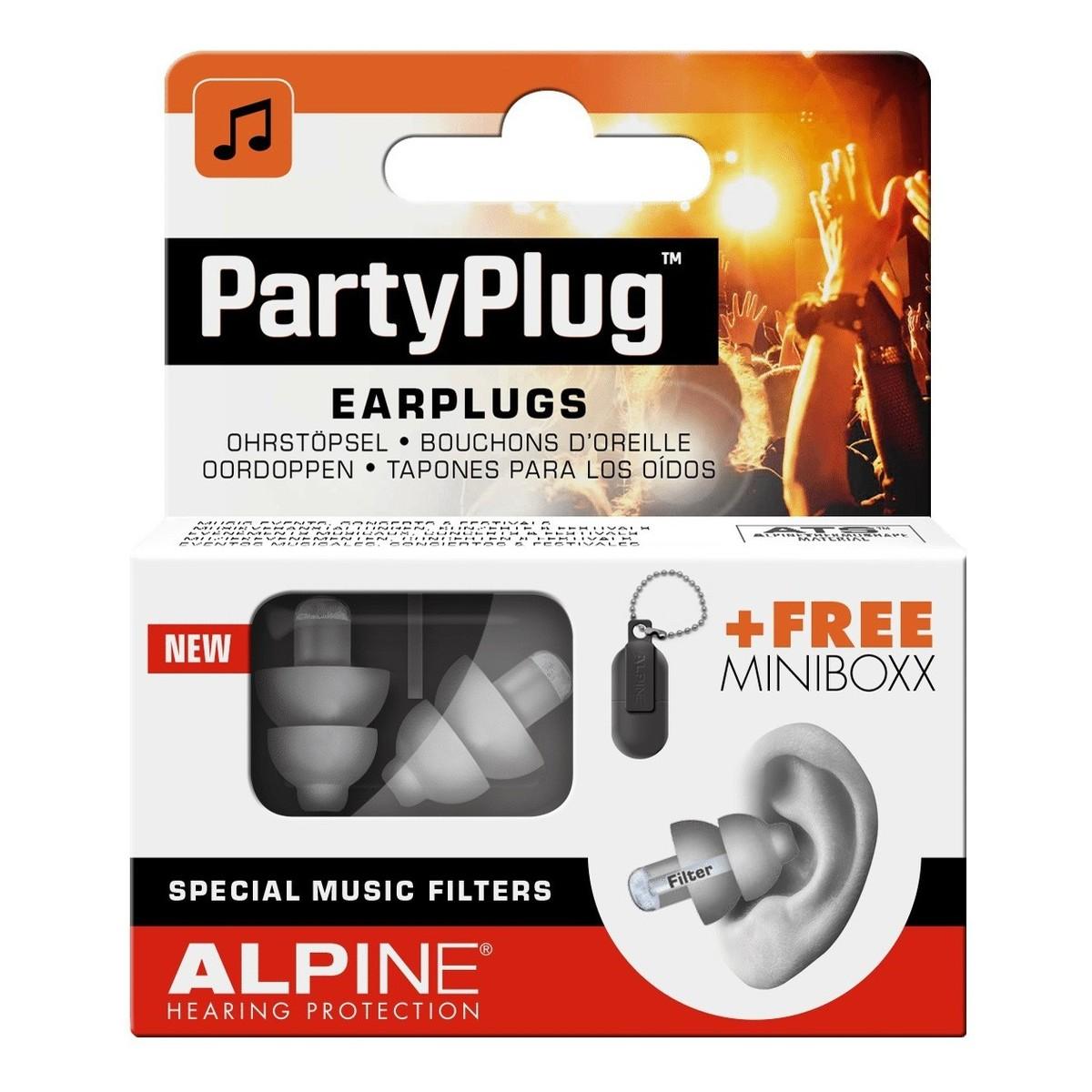 Image of Alpine PartyPlug Earplugs Silver