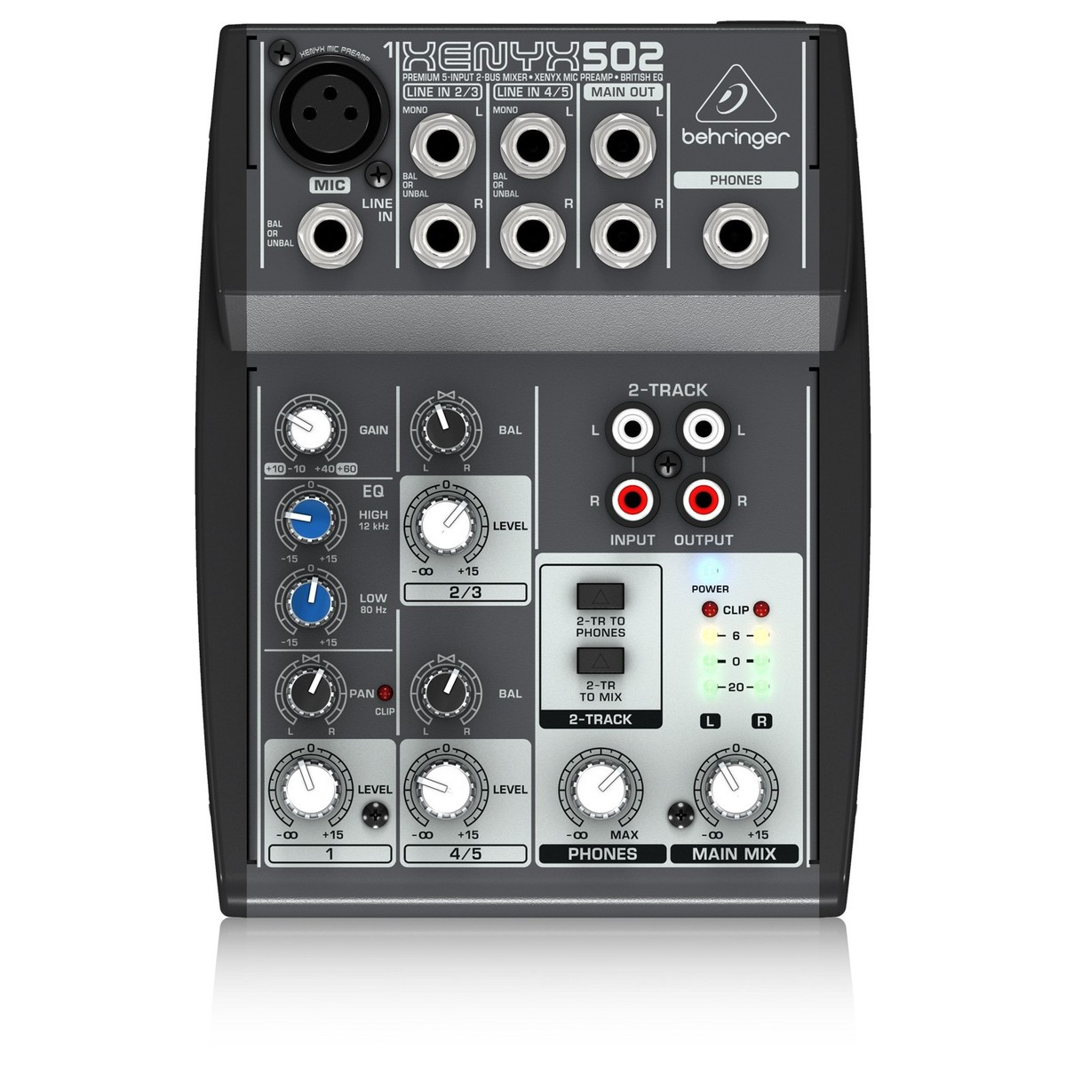 Behringer xenyx 502 table de mixage - Table de mixage virtuel gratuit en francais ...