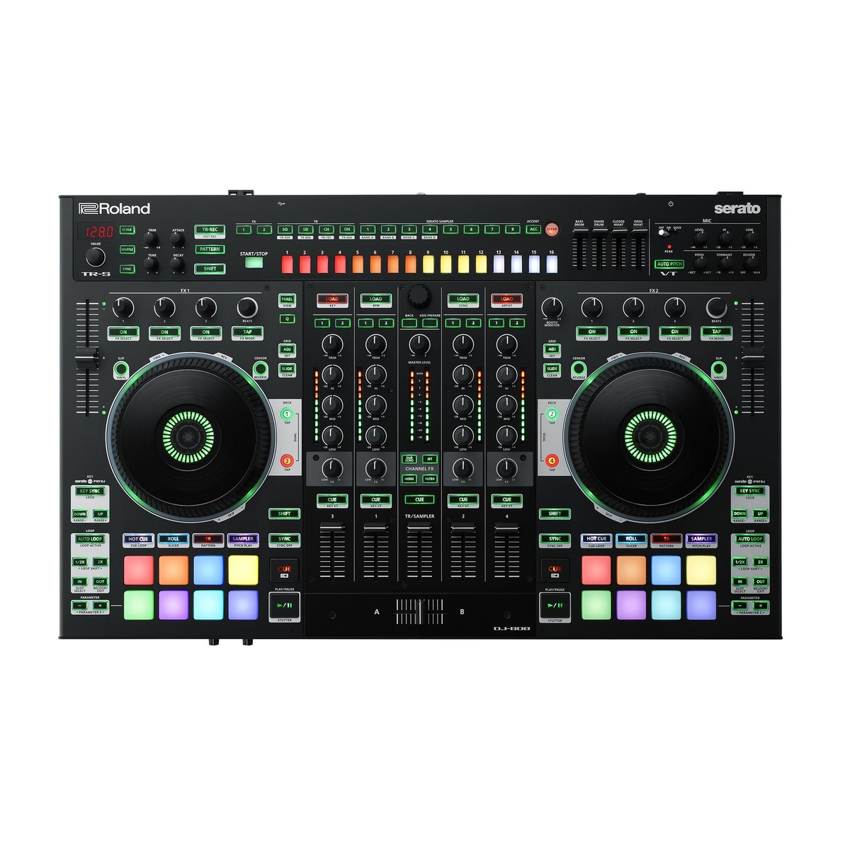 Roland Dj 808 Dj Controller At Gear4music Com