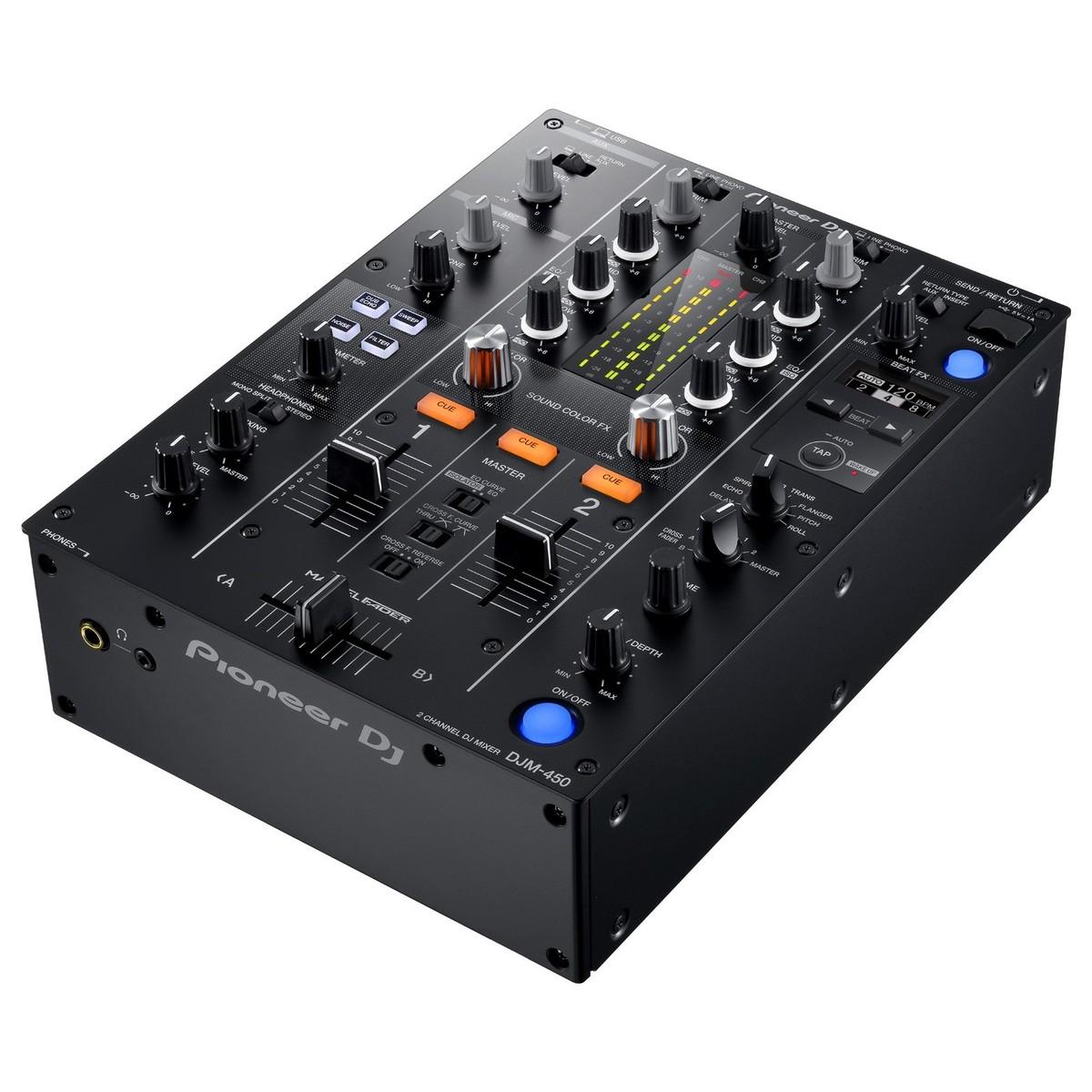 Pioneer table de mixage dj djm 450 - Pioneer table de mixage ...