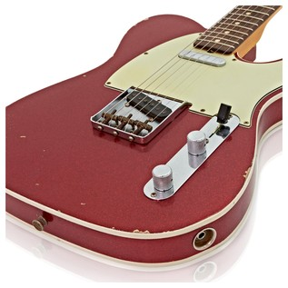 Fender Custom Shop 1962 Relic Telecaster Custom, Red Sparkle