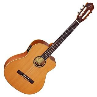 Ortega RCE131SN Electro Classical Guitar, Slim Neck