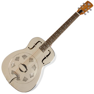 Epiphone Dobro Hound Dog M-14 Metal Body Resonator, Round Neck