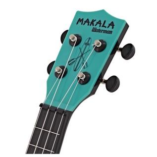 Makala Waterman MK-SWB/BL Soprano Ukulele, Aqua Blue