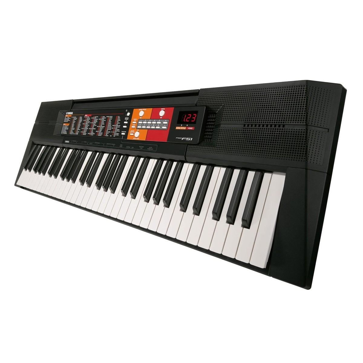 yamaha psr f51 portable keyboard x frame package at. Black Bedroom Furniture Sets. Home Design Ideas