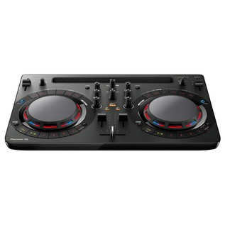 Pioneer DDJ-WeGO4 DJ Controller - Bottom Angled