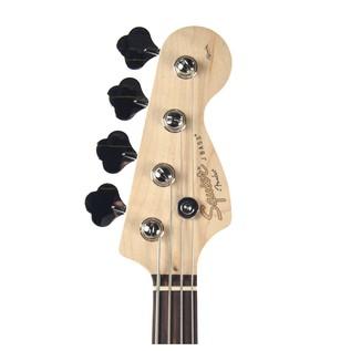 Squier Affinity Jazz Bass Guitar, Slick Silver