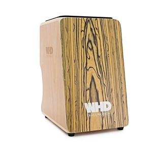 WHD Double Sided Cajon, Zebrano