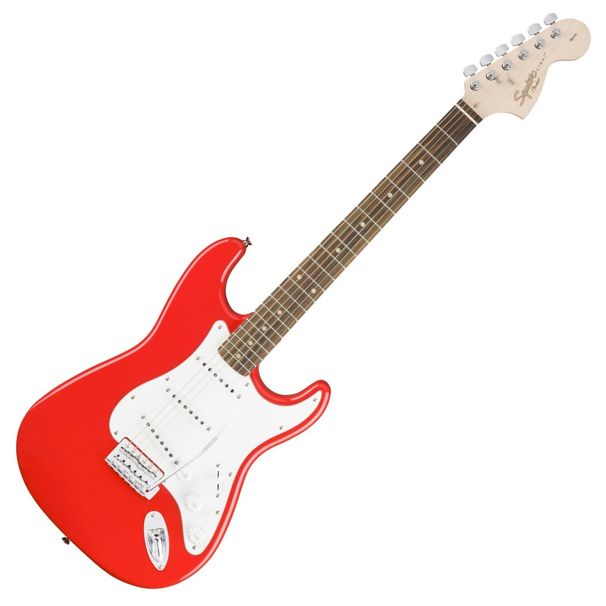 squier by fender affinity stratocaster race red at. Black Bedroom Furniture Sets. Home Design Ideas