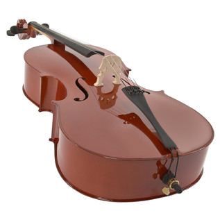 Student 4/4 Size Cello with Case by Gear4music