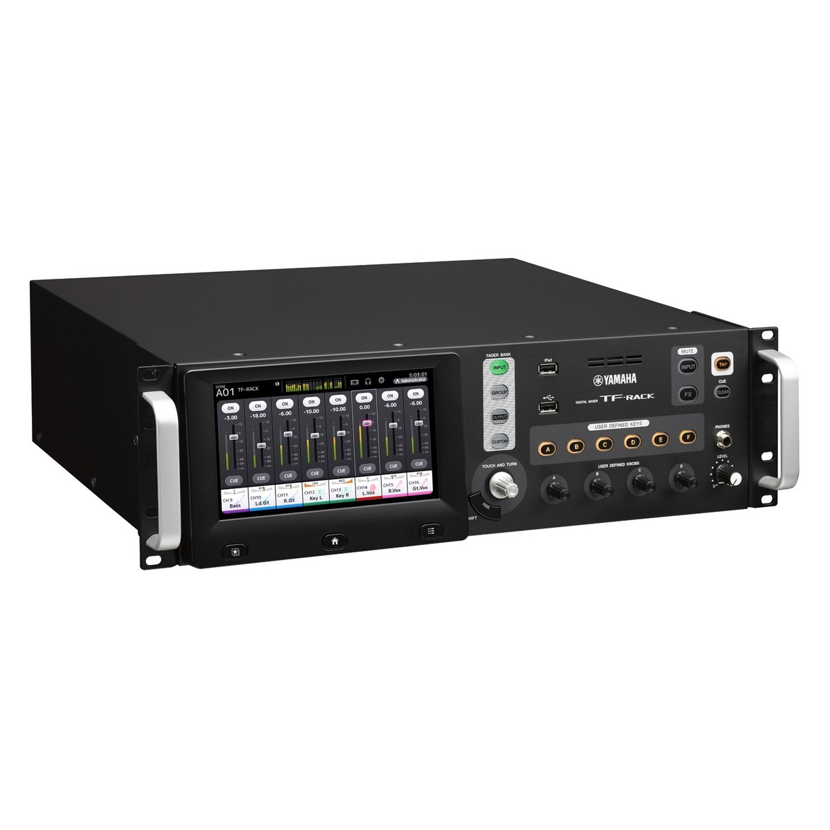 yamaha tf rack digital mixer at