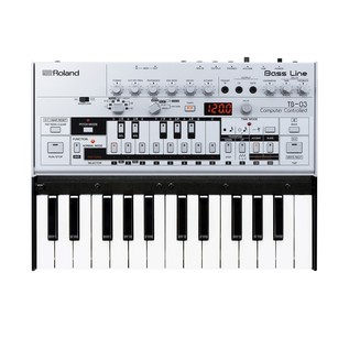 Roland Boutique TB-03 Module with K-25m Keyboard - Bundle