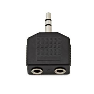 2 x Stereo Minijack (F) to Stereo Minijack (M) Adaptor
