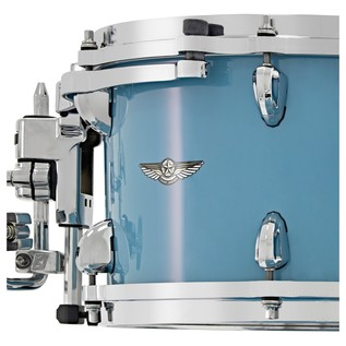 Tama Star Walnut 22'' 4 Piece Shell Pack, Vintage Sea Blue