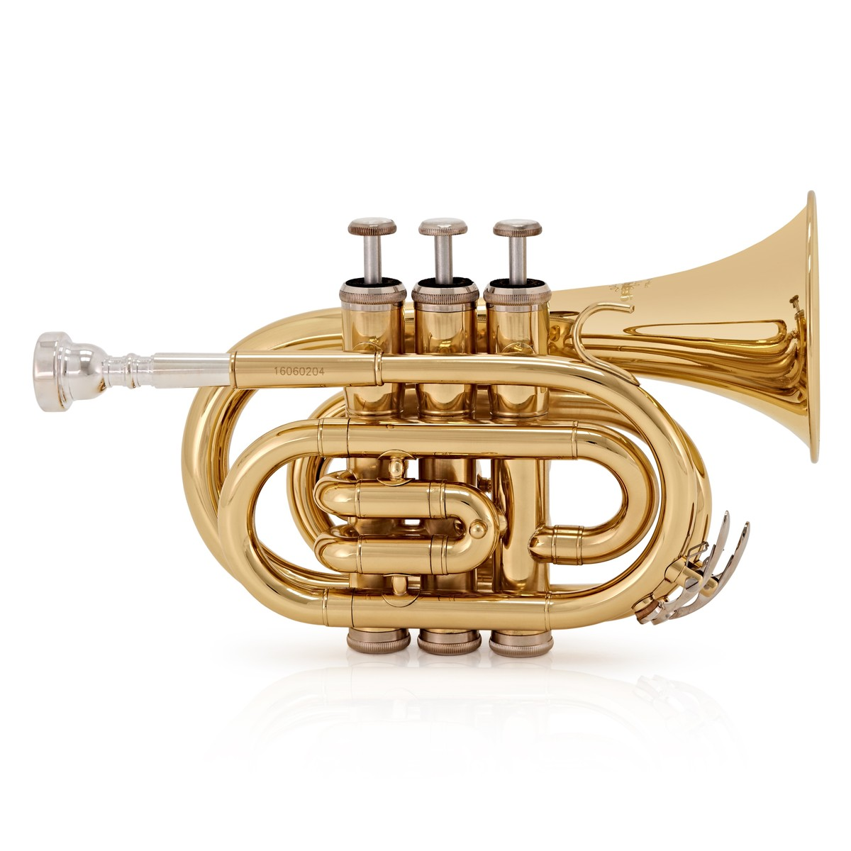 Image of Pocket Trumpet by Gear4music Gold