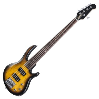 Gibson EB T 5 String Bass Guitar, Satin Vintage Sunburst (2017)
