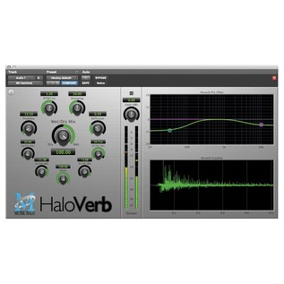 Metric Halo Verb Plug-In for AAX/Audio Units - Screenshot