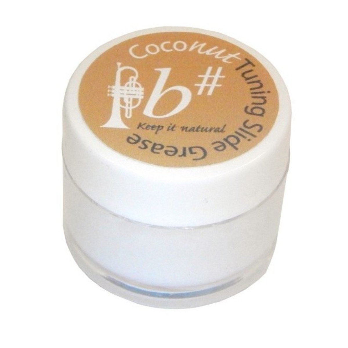 Image of Bsharp Coconut Tuning Slide Grease
