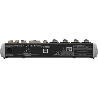 Behringer XENYX QX1202USB USB Mixer - rear