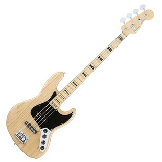 Fender American Elite Ash Jazz Bass MN, Natural