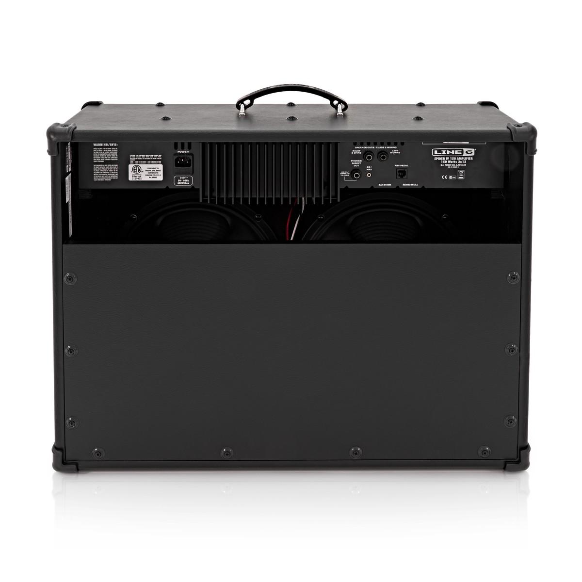 line 6 spider iv 150 guitar combo amp at. Black Bedroom Furniture Sets. Home Design Ideas