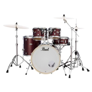 Pearl Decade Maple 22'' Am Fusion W/ Hardware, Crimson Galaxy Flake