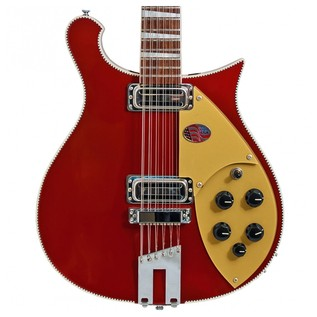 Rickenbacker 660 12 String Electric Guitar, Ruby Red