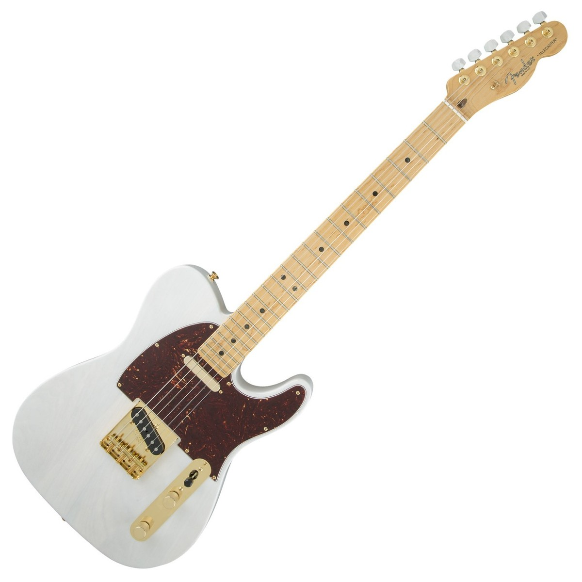 fender fsr limited edition select light ash telecaster white blonde at. Black Bedroom Furniture Sets. Home Design Ideas
