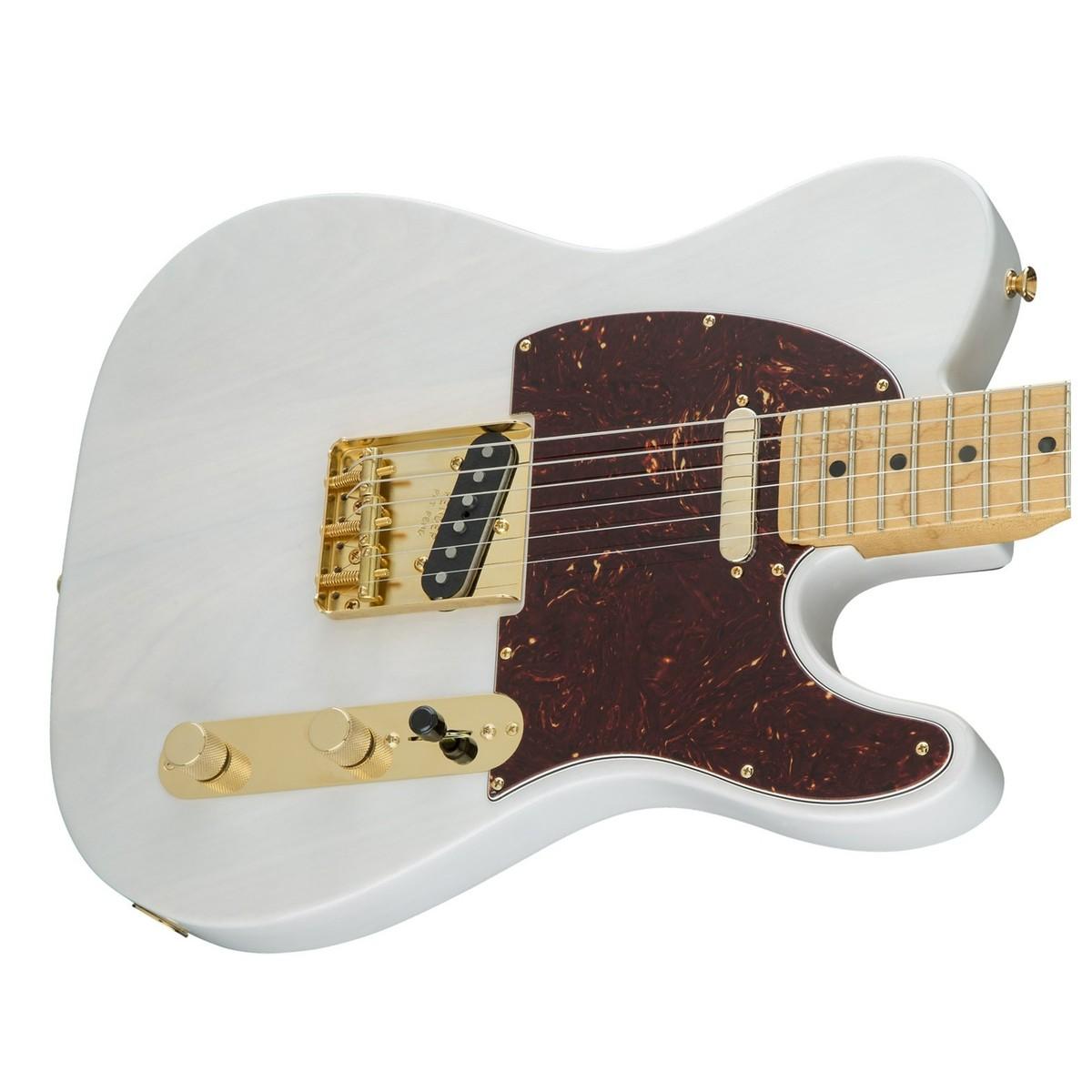 fender fsr limited edition select light ash telecaster white blonde at. Black Bedroom Furniture Sets. Home Design Ideas