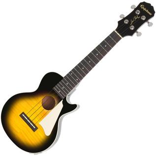 Epiphone Les Paul Electro-Acoustic Ukulele, Vintage Sunburst