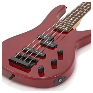Lexington Bass Guitar + 35W Amp Pack, Red