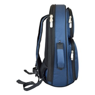 Tom and Will 26FGH Flugel Horn Gig Bag, Blue with Black Trim