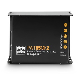 Palmer MI PWT 05 MK 2 Universal 9V Pedalboard Power Supply 5 Outputs