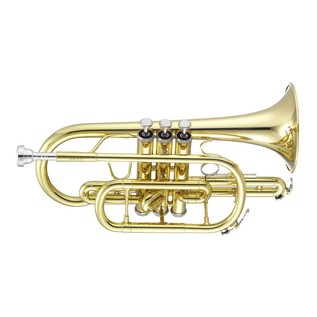 Jupiter JCR-700 Cornet, Clear Lacquer with Free Slimpitch Tuner