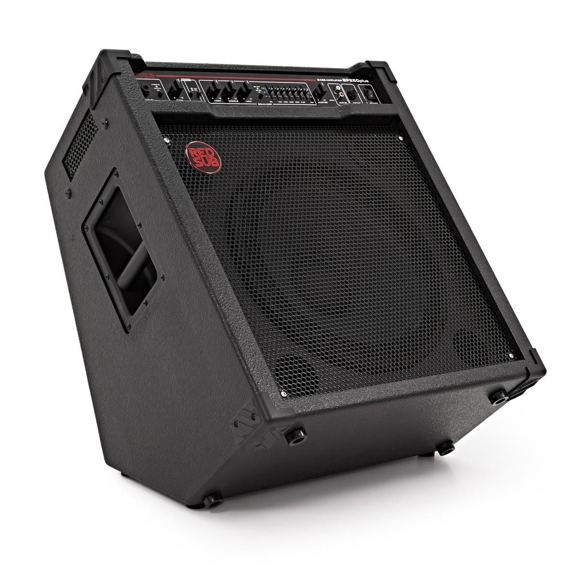 redsub bp250plus 250w bass guitar amplifier box opened at. Black Bedroom Furniture Sets. Home Design Ideas