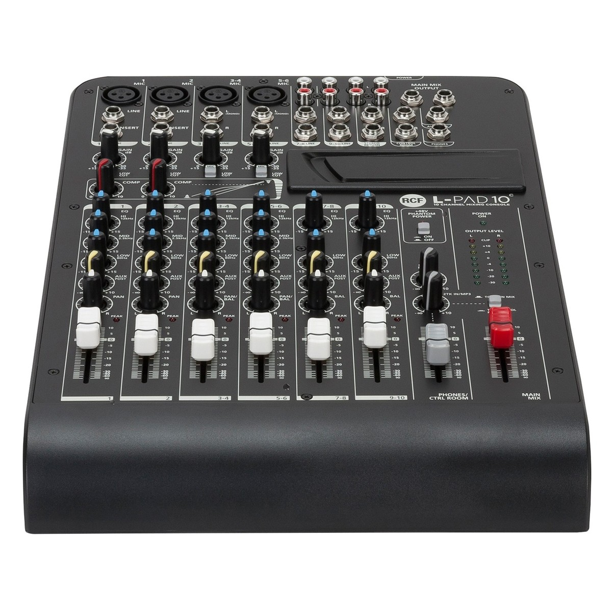 Rcf lpad10c audio channel 10 table de mixage analogique - Table de mixage virtuel gratuit en francais ...