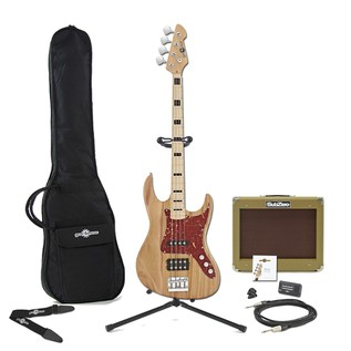 Milwaukee Bass Guitar + SubZero V35B Amp Pack