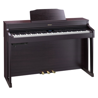 Roland HP603 Digital Piano, Contemporary Rosewood