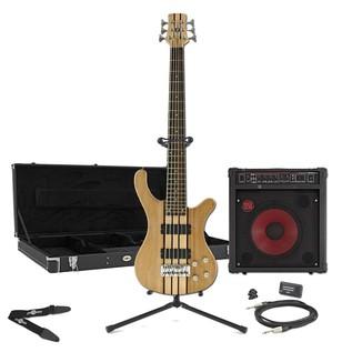 Oregon 6 String Bass Guitar + RedSub BP80 Pack