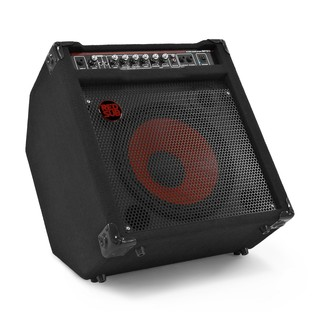 San Francisco Semi Acoustic Bass + RedSub BP80 Amp Pack, Black