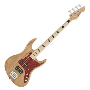 Milwaukee Bass Guitar + SubZero V35B Amp Pack, Natural