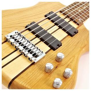 Oregon 6 String Bass + RedSub BP80 Amp Pack, Natural